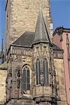 Czech Republic, Prague, city hall, turret