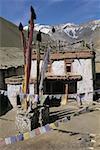 Jammu et Cachemire, l'Inde, Ladakh, le monastère de Dat