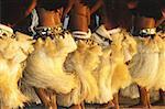Français des îles de la société, îles sous-le-vent, Bora Bora, Polynésie, danseurs pendant le Heiva Festival