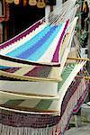 Guatemala, Santiago Atitlan, hammocks for sale at the market