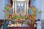 Guatemala, Antigua, La Merced church, altar