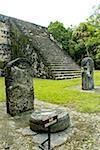 Guatemala, Tikal National Park, steles