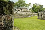 Guatemala, Tikal National Park, ruins