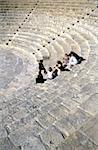Chypre, site archéologique de Kourion, amphithéâtre romain