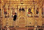 Chypre, monastère de Kykkos, iconostase
