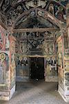Cyprus, Asinou, church of Panagia Forviotissa, frescoes