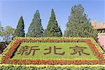 La Chine, près de Beijing, tombeaux de dynastie de Ming, la tombe de Changling, entrée