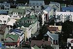 Iceland, Reykjavik, traditional dwellings