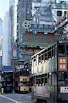 China, Hong Kong, Wan Chai District, tramway