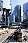 Chine, Hong Kong, Central District, tramway
