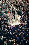 Procession du Pérou, Lima, du Seigneur des Miracles