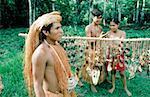 Peru, Amazonia, Yagua Indians