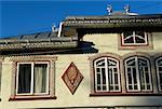 Habitation traditionnelle de la province de Bucovine, Ciocanesti, Roumanie, Moldavie,
