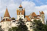 Romania, Transylvania, Bran, Dracula's Castle