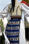 Romania, Transylvania, Ibanesti, folk dance