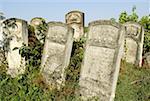 Romania, Moldavia, province of Bukovina, Iasi, jewish cemetery, graves