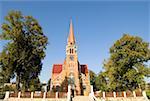 Romania, Moldavia, province of Bukovina, near Cacica, Catholic church