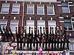 La Hollande septentrionale, Amsterdam, marché Albert Cuyp