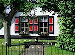 The Netherlands, Gelderland, Nijmegen, traditional dwelling