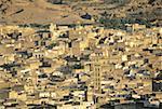 Morocco, Fes, city view