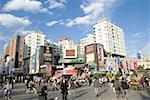 China, Yunnan, Kunming, downtown