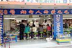 China, Yunnan, Xishuangbanna, Jinghong, jade and precious stone shop