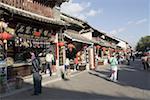 China, Yunnan, Dali, souvenir shops
