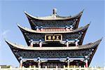 Chine, Yunnan, Dali, ancienne porte de la ville