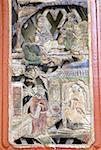 China, Yunnan, Lijiang, black dragon pool Park, carved pattern