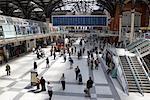 Gare de Liverpool Street, Londres, Angleterre