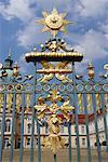 Porte du château de Charlottenburg, Berlin, Allemagne