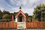 Church, Onuku Village, Banks Peninsula, New Zealand