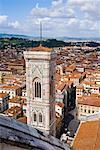 Campanile cathédrale, Florence, Italie