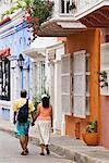 La vieille ville, Cartagena, Colombie