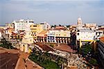 Plaza de los Coches and Puerta del Reloj, Cartagena, Colombia