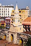 Puerta del Reloj, Cartagena, Colombia