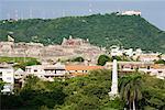 Castillo de San Felipe de Barajas and Convento de la Popa, Cartagena, Colombia