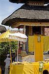 Indonesia, Bali, Klungkung, Kori Agung Tankash temple, Saraswati festival