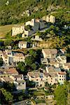 France, antenne de Provence, Saint Jurs, village de