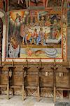 Monastère de Rila, Bulgarie, fresque