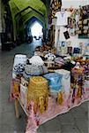 Uzbekistan, Bukhara, Toki Telpak Fourouchon bazaar, folk hats