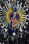 Brazil, Rio de Janeiro, the carnival