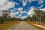 Road in Australian Outback, Queensland, Australia
