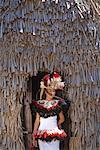 Portrait of Woman, La'ie, Hawaii
