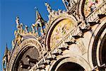 Cathédrale Saint-Marc, Piazza San Marco, Venise, Vénétie, Italie