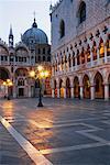 Palais des Doges et la Basilique de, Vénétie Saint-Marc, Venise, Italie