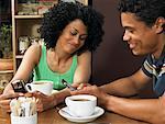 Paar im Café