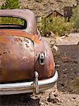 Verrostet altes Auto, Eldorado Canyon, Nevada, USA