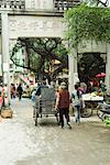 China, Guangdong province, street market