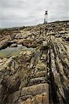 Western Head Lighthouse, Liverpool, Nova Scotia, Canada
